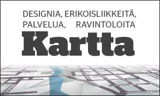 Design On Tampere kartta kuva