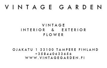 Vintage Garden logo