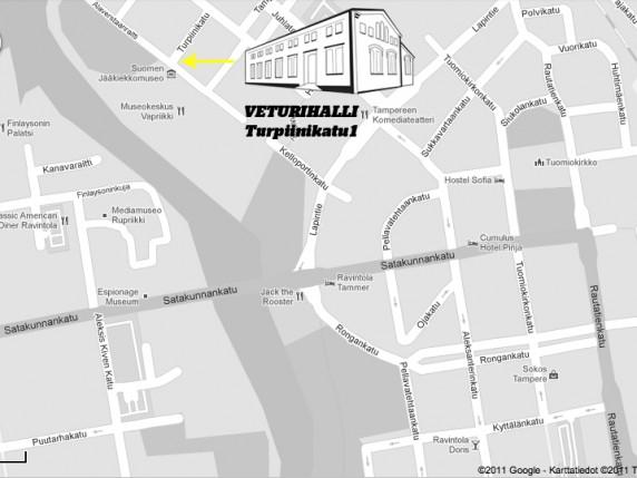 DOT 2011 kartta veturihalli