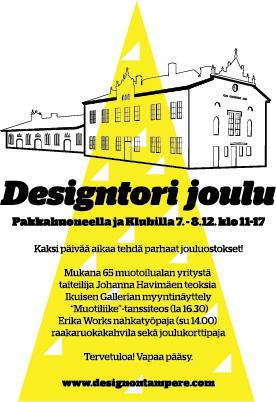 designtori joulu 2018 Designtori joulu 7. 8.12. | Design on Tampere designtori joulu 2018
